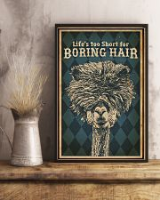 Life's Too Short For Boring Hair Alpaca 16x24 Poster lifestyle-poster-3
