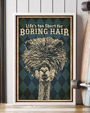 Life's Too Short For Boring Hair Alpaca 16x24 Poster lifestyle-poster-4