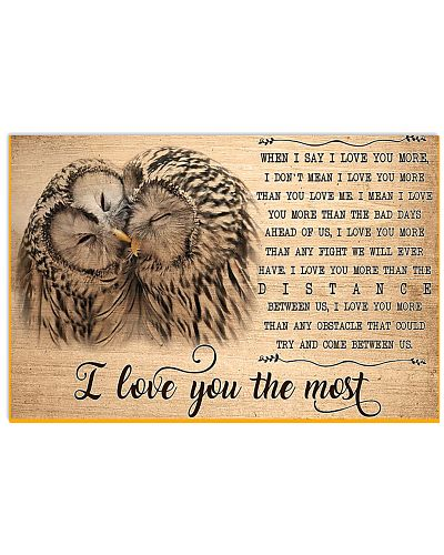 Owl I Love You To The Most
