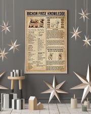 Bichon Frise Knowledge 11x17 Poster lifestyle-holiday-poster-1