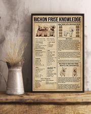 Bichon Frise Knowledge 11x17 Poster lifestyle-poster-3