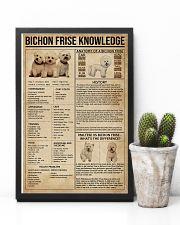 Bichon Frise Knowledge 11x17 Poster lifestyle-poster-8