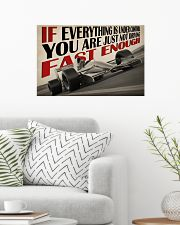 Not Fast Enough Car Racing 24x16 Poster poster-landscape-24x16-lifestyle-01