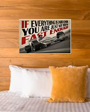 Not Fast Enough Car Racing 24x16 Poster poster-landscape-24x16-lifestyle-27