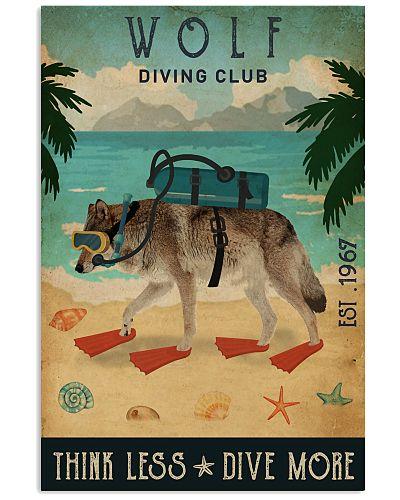 Vintage Diving Club Wolf