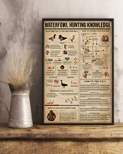 Waterfowl Hunting Knowledge 11x17 Poster lifestyle-poster-3