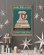 And She Lived Happily Ever After Baking 16x24 Poster lifestyle-holiday-poster-1