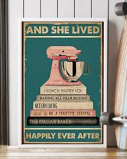And She Lived Happily Ever After Baking 16x24 Poster lifestyle-poster-4