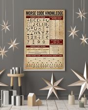 Morse Code Knowledge 11x17 Poster lifestyle-holiday-poster-1