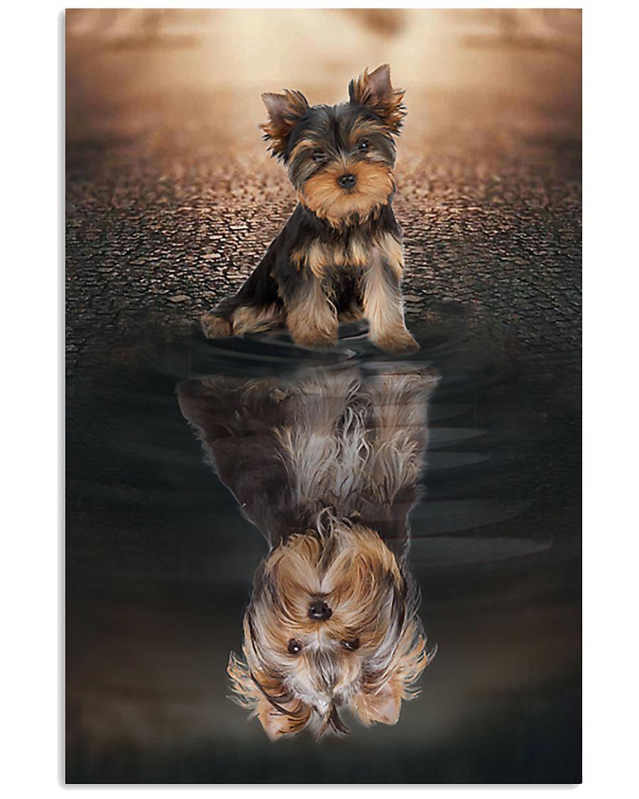 Yorkshire Terrier Believe In Yourself 11x17 Poster