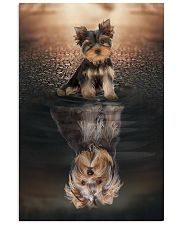 Yorkshire Terrier Believe In Yourself 11x17 Poster front