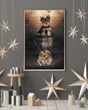 Yorkshire Terrier Believe In Yourself 11x17 Poster lifestyle-holiday-poster-1