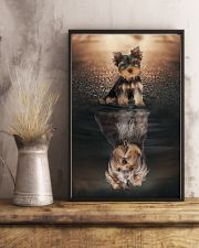 Yorkshire Terrier Believe In Yourself 11x17 Poster lifestyle-poster-3