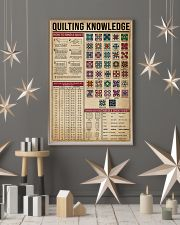 Knowledge Quilting 16x24 Poster lifestyle-holiday-poster-1