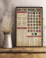 Knowledge Quilting 16x24 Poster lifestyle-poster-3