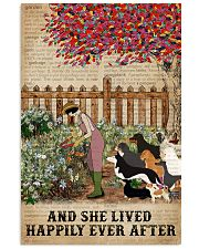 Dictionary Lived Happily Gardening Dogs 16x24 Poster front