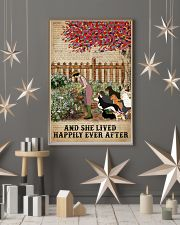 Dictionary Lived Happily Gardening Dogs 16x24 Poster lifestyle-holiday-poster-1