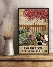 Dictionary Lived Happily Gardening Dogs 16x24 Poster lifestyle-poster-3