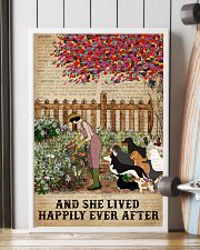 Dictionary Lived Happily Gardening Dogs 16x24 Poster lifestyle-poster-4
