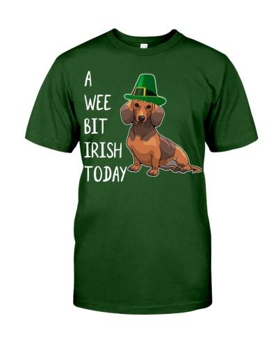 A Wee Bit Irish Today Dachshund