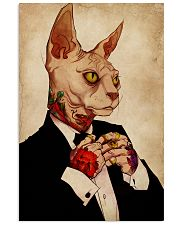 Tattoo Human Drawing Sphynx Cat 11x17 Poster front