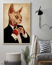Tattoo Human Drawing Sphynx Cat 11x17 Poster lifestyle-poster-1