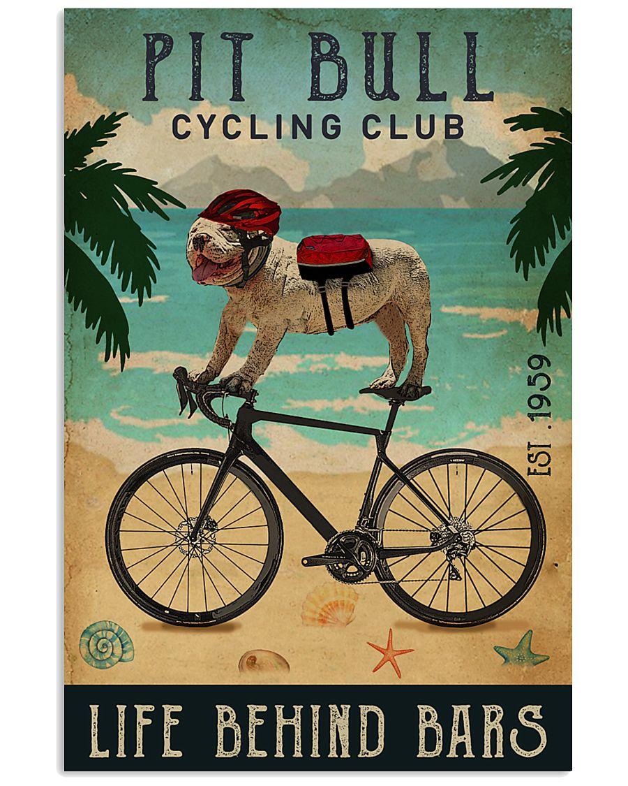 Cycling Club Pit Bull 11x17 Poster