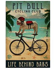Cycling Club Pit Bull 11x17 Poster front