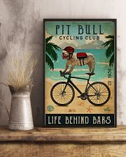 Cycling Club Pit Bull 11x17 Poster lifestyle-poster-3