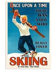 Once Upon A Time Skiing Boy 16x24 Poster front