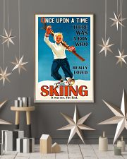 Once Upon A Time Skiing Boy 16x24 Poster lifestyle-holiday-poster-1