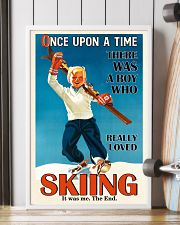 Once Upon A Time Skiing Boy 16x24 Poster lifestyle-poster-4