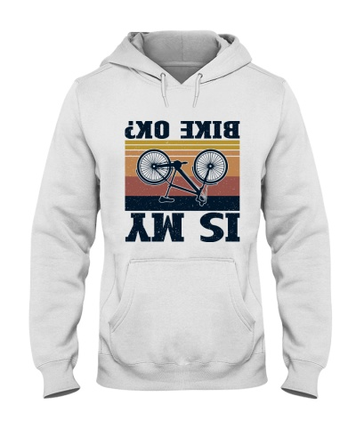 Retro Navy Is My Bike Ok Cycling