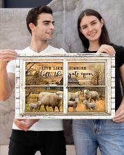 Window The Gate Open Sheep 24x16 Poster poster-landscape-24x16-lifestyle-21