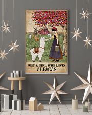 Dictionary Who loves Alpaca Farm Girl 11x17 Poster lifestyle-holiday-poster-1