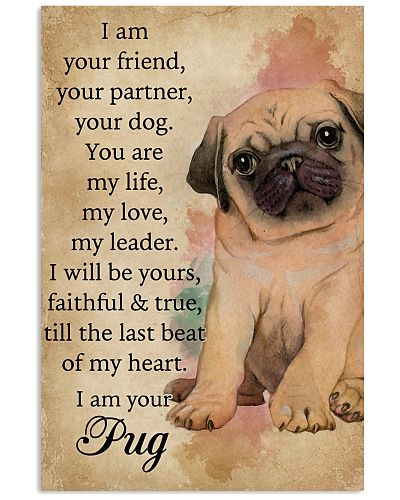 I Am Your Friend Pug