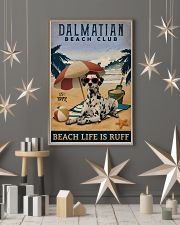 Vintage Beach Club Is Ruff Dalmatian 11x17 Poster lifestyle-holiday-poster-1