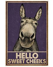 Purple Hello Sweet Cheek Donkey 16x24 Poster front