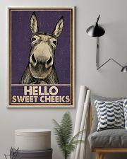 Purple Hello Sweet Cheek Donkey 16x24 Poster lifestyle-poster-1