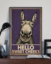 Purple Hello Sweet Cheek Donkey 16x24 Poster lifestyle-poster-2