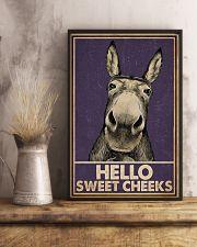 Purple Hello Sweet Cheek Donkey 16x24 Poster lifestyle-poster-3
