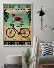 Cycling Club American Pit Bull Terrier 11x17 Poster lifestyle-poster-1