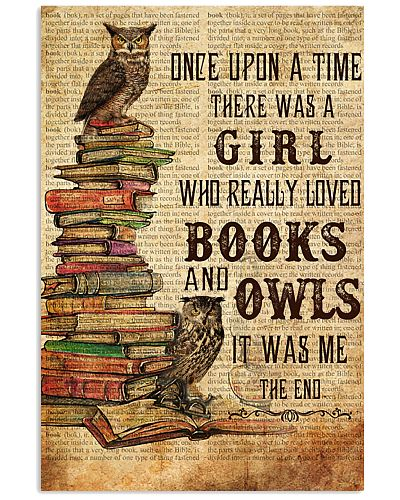 Once Upon A Time Book Owls
