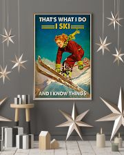 Skiing That's What I Do 16x24 Poster lifestyle-holiday-poster-1