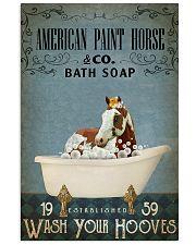 Vintage Bath Soap American Paint Horse 11x17 Poster front
