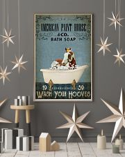 Vintage Bath Soap American Paint Horse 11x17 Poster lifestyle-holiday-poster-1