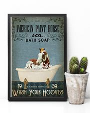 Vintage Bath Soap American Paint Horse 11x17 Poster lifestyle-poster-8