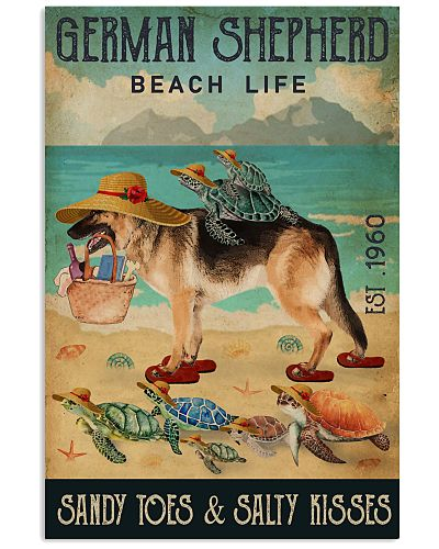 Turtle Beach Life German Shepherd