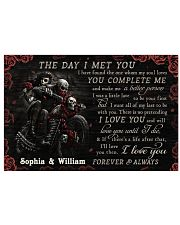 Personalized Motor The Day I Met You 24x16 Poster front