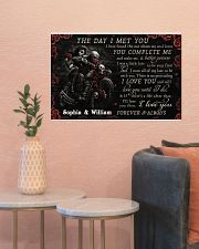Personalized Motor The Day I Met You 24x16 Poster poster-landscape-24x16-lifestyle-22